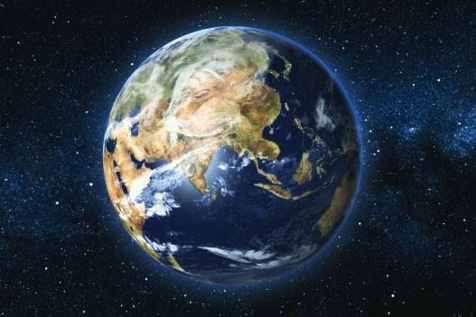 Jorden. Billede af jorden.